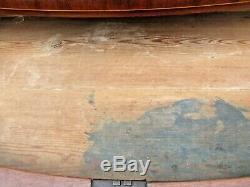 1780-90's Hepplewhite Mahogany 4 Drawer Chest with Inlay with Original Hardware