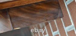 19th C Vintage Empire Chest of Drawers Dresser Mahogany Salesman Sample