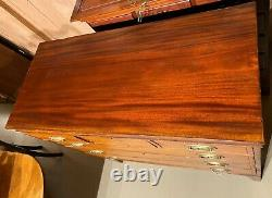 19th c Scottish Mahogany Chest of Drawers with Mickie Family Provenance