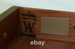 25726EC KITTINGER WA-1-31 Colonial Williamsburg Mahogany Bachelor Chest