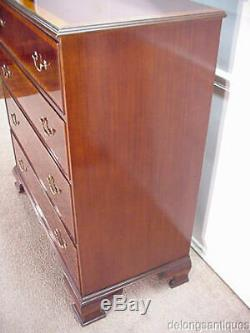 29883Brand New Solid Mahogany Large Chest of Drawers