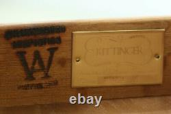 30435EC KITTINGER WA-1031 Colonial Williamsburg Mahogany Bachelor Chest