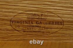 32459EC HENKEL HARRIS 4 Drawer Mahogany Chest Or Dresser