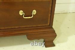 32675EC COUNCILL CRAFTSMEN Chippendale Mahogany High Chest Of Drawers