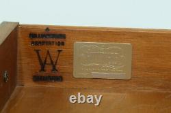 45895EC KITTINGER Colonial Williamsburg WA-1031 Mahogany Bachelor Chest