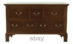 46694ECKITTINGER Colonial Williamsburg WA-1060 Mahogany Mule Chest