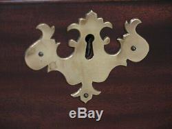 46795EC KITTINGER Colonial Williamsburg CW-18 Mahogany Chest Dresser