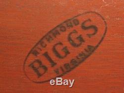 46988EC BIGGS Inlaid Mahogany John Shaw Chest