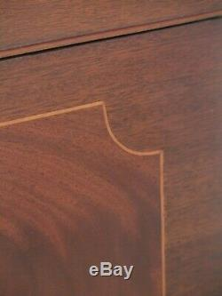 48105EC HENKEL HARRIS Model 2530 Mahogany Silver Chest