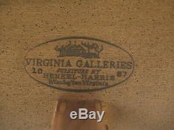 48684EC HENKEL HARRIS Federal Inlaid Mahogany Silver Chest
