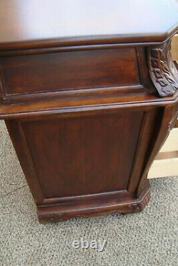 60459 Mahogany Bachelor Chest Dresser Night Stand Table
