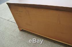 60657 LEXINGTON Banded Mahogany Dresser Chest