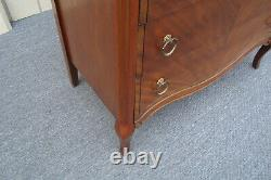61684 Inlaid High Chest Dresser