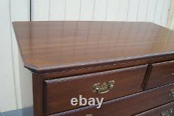 61796 ETHAN ALLEN Mahogany High Chest Dresser