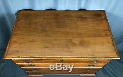 Antique 18th Century Connecticut Cherry Chest of Drawers Shipping Available