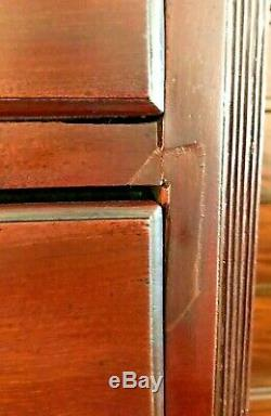 Antique 18th Century George III Mahogany Chest on Chest Shipping Available