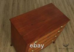 Antique American Federal Period Mahogany Chest of Drawers