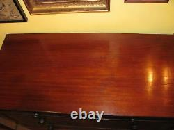 Antique American Mahogany Chest of Drawers Circa 1810
