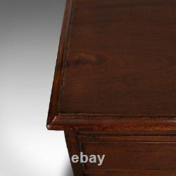 Antique Bachelor's Chest of Drawers, English, Flame Mahogany, Georgian, C. 1780