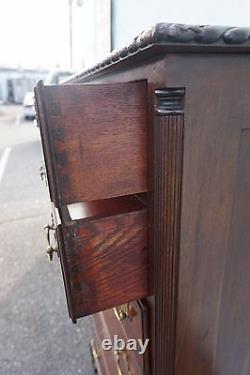 Antique Feldenkreis Mahogany Lingerie Chest 54h X 30w X 20d