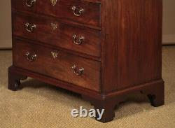 Antique Small Georgian Mahogany Chest of Drawers c. 1780