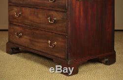 Antique Small Georgian Mahogany Chest of Drawers c. 1800