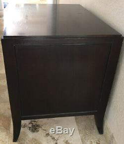 Baker Furniture Barbara Barry Chest bedroom Chest Night side Table dark brown