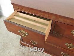 Baker Furniture Company ENGLISH CLASSICS Chippendale Mahogany Long Chest