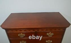 Baker Mahogany Chippendale Chest of Drawers