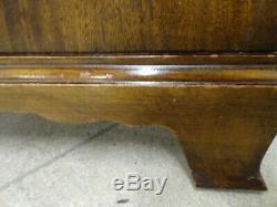 Century Furniture Mahogany Chests Nightstands Pair #670-652
