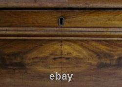 Continental Scottish Mahogany Two Part Chest Of Drawers
