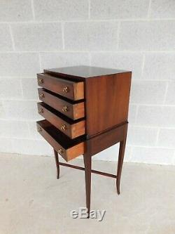 Councill Craftsmen Mahogany Regency Style Silver Chest