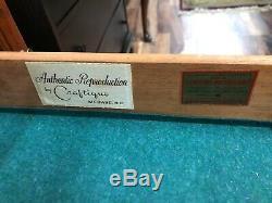 Craftique Solid Mahogany Mary Washington Chest
