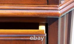 Drexel Heritage Chippendale Chest of Drawers banded flame mahogany