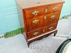 Early 1800s French Mahogany Bachelors Chest