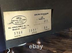 Genuine Henkel Harris Mahogany Silver Chest. 40.5
