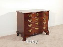 HICKORY CHAIR James River Collection Figured Mahogany Serpentine Locking Chest