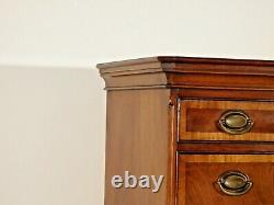 HICKORY CHAIR James River Collection Locking Tall Chippendale Highboy Chest