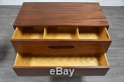 Harvey Probber Mahogany Dresser Chest Mid Century Modern