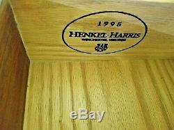 Henkel Harris Dresser Chest No 166 Has Columns Mahogany