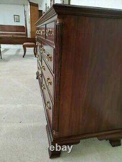 Henkel Harris Dresser Chest No 172 Has Columns Mahogany