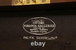 Henkel Harris Federal Style Vintage Mahogany Silver Chest