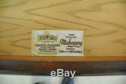 Henkel Harris Four Drawer Mahogany Chippendale Chest #2401