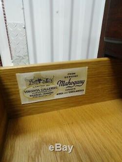 Henkel Harris Genuine Mahogany Lingerie Chest