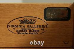 Henkel Harris Mahogany Gentlemans High Chest
