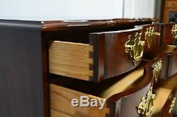 Henkel Harris SPNEA Blockfront Mahogany Chest