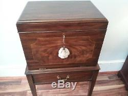Henkel-Harris Silver Chest on Stand, Federal Style