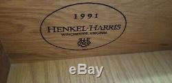 Henkel Harris Triple Dresser Chest Mahogany