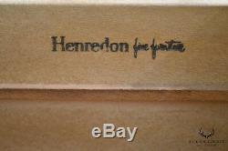 Henredon Folio Eleven Vintage Mahogany Gentlemans High Chest