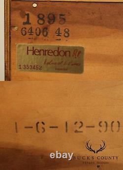 Henredon Historic Natchez Georgian Style Mahogany Serpentine Chest